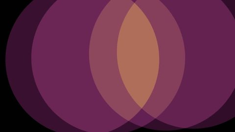 circles soft pastel colors shape abstract background animation New quality retro vintage universal motion dynamic animated colorful joyful dance music video footage loop