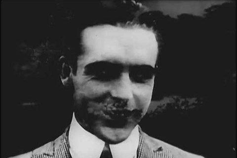 CIRCA 1950 Various popular film actors from the silent era are showcased.