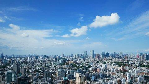Tokyo landscape · time lapse · July
