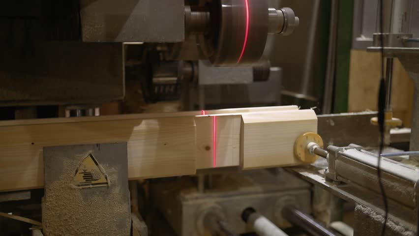 Woodwork Machine with Laser Pointer Stock Footage Video (100% Royalty-free)  1006913446   Shutterstock