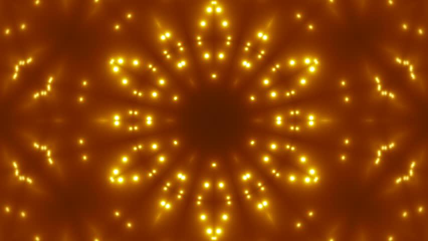 VJ Fractal gold kaleidoscopic background. Seamless loop | Shutterstock HD Video #1006924426