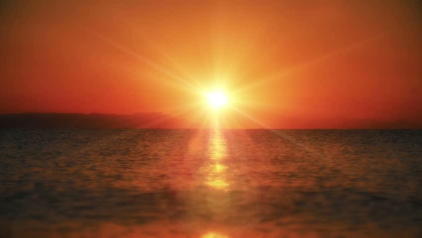 Sunrise wave sea slow motion | Shutterstock HD Video #1007002276