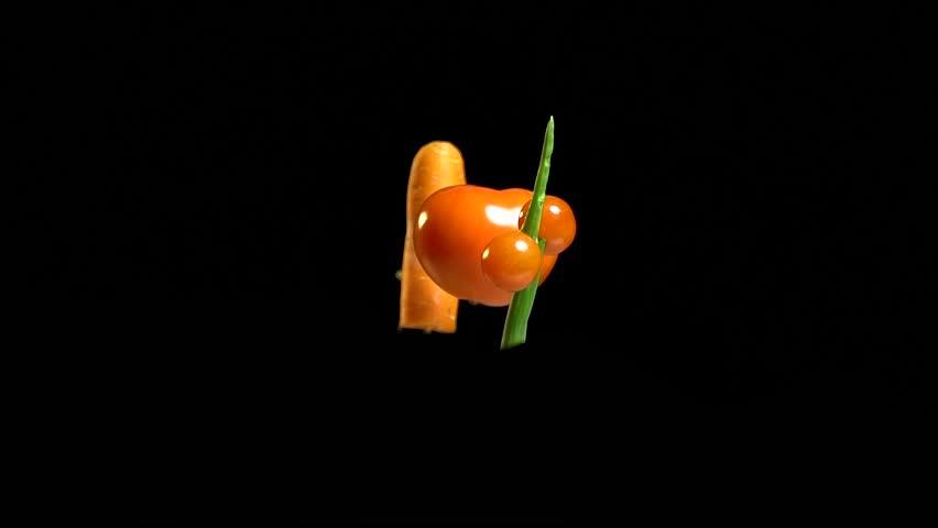 Figure of fresh vegetables minus 10 percent discount