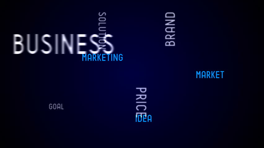 Business - typography, animation | Shutterstock HD Video #1007101816