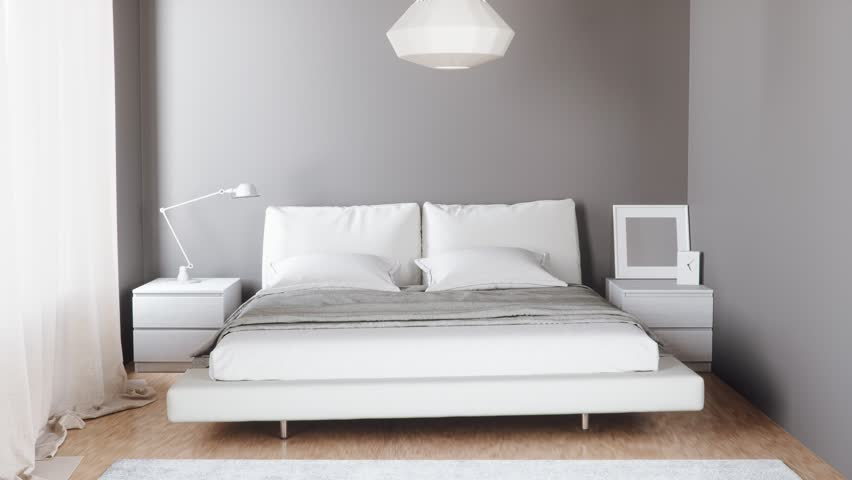 Shrinking Bedroom Interior
