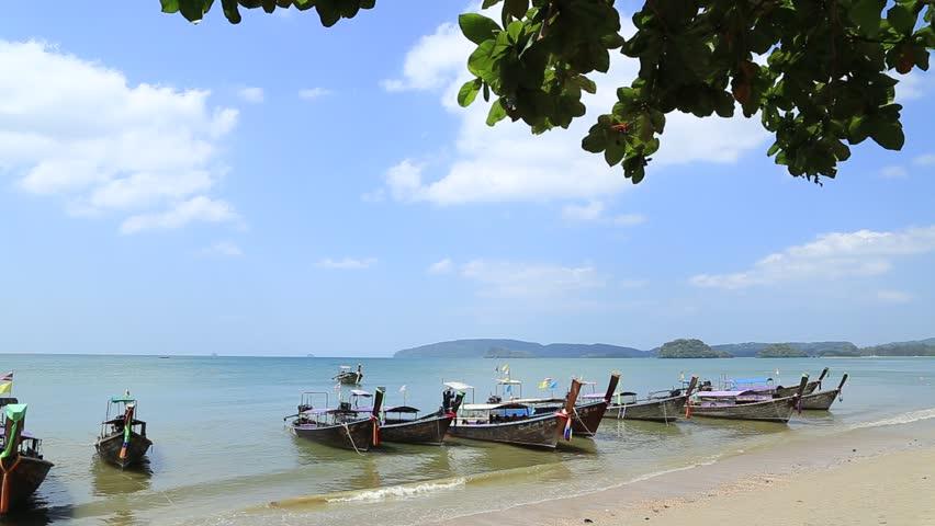 Krabi Thailand February 7 Stock Footage Video 100 Royalty Free 1007311726 Shutterstock
