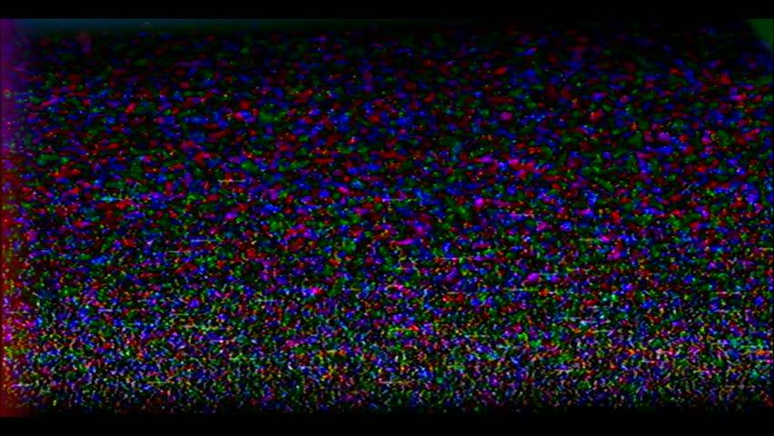 Reverse VHS Tape Screen. Tv Test Signal. Error Video Recording. | Shutterstock HD Video #1007524306