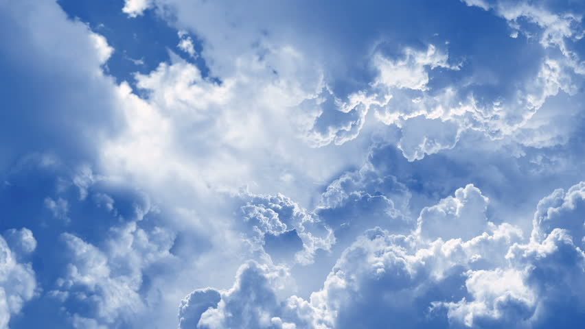 Fly Through Clouds Animation Footage | Shutterstock HD Video #1007541046