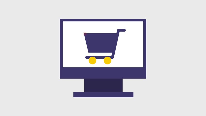 Shopping e commerce icons | Shutterstock HD Video #1007541826