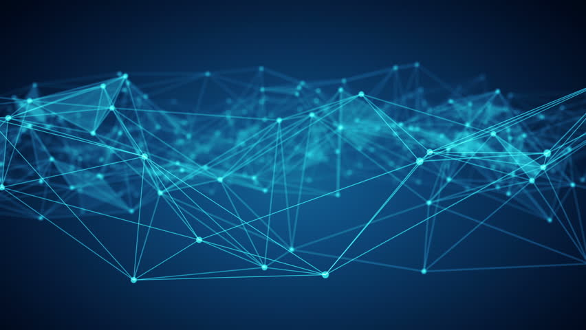 Concept of Network, internet communication. Flying through the abstract network connections | Shutterstock HD Video #1007685697
