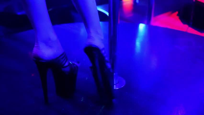 Join. All walking in stripper heels