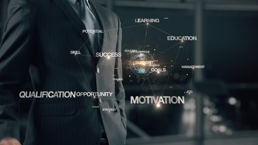 Businessman with Career planning | Shutterstock HD Video #1007737816