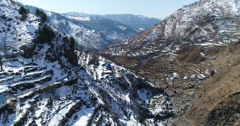 Snowed mountain at Azad Kashmir, Pakistan