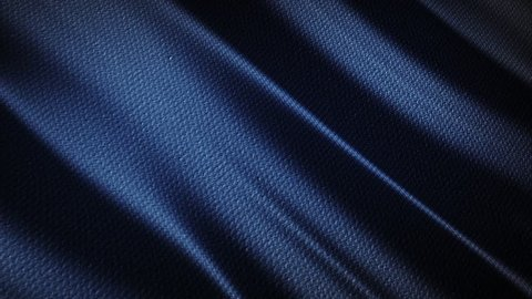 Blue wavy fabric motion background cloth