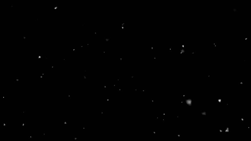 Realistic snow. Snowflakes on black background. | Shutterstock HD Video #1007996566
