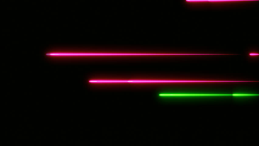 Moving abstract neon lines in space, 3d rendering backdrop | Shutterstock HD Video #1008070306