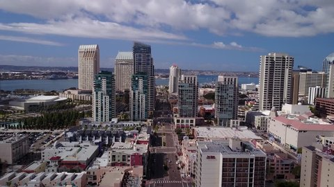 San Diego, CA - Downtown - Drone Video. Aerial Video of Downtown San Diego, CA.