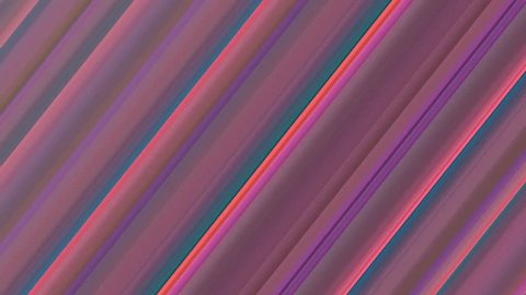 Colorful diagonal stripes moving against each other horizontally