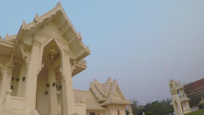 Royal Thai Monastery Lumbini , Nepal  Or Wat Thai Lumbini Temple