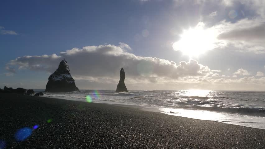 Iceland Black Sand Beach Reveal Basalt Rock Formations Trolls Toes 6