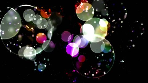 Colorful Circles Video Background Loop . Glassy circular shapes perform a colorful dance. motion background that is just perfectly suited for DVDs, events, clubs and lounges.. HD background