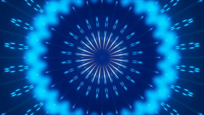 Blue abstract background, motion particles and light, loop | Shutterstock HD Video #1008999266