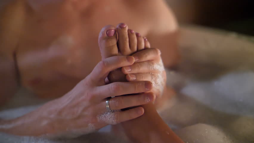 Sexy foot massage video