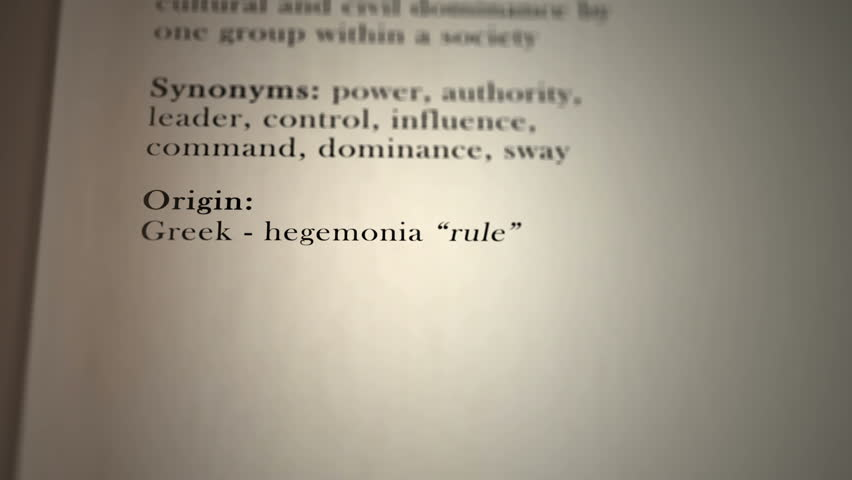 Header of Hegemony