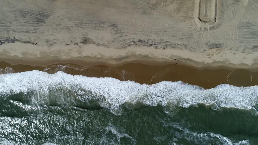 Birdseye view of Virginia beach.