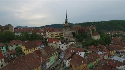Romania. Sighisoara Fortress City