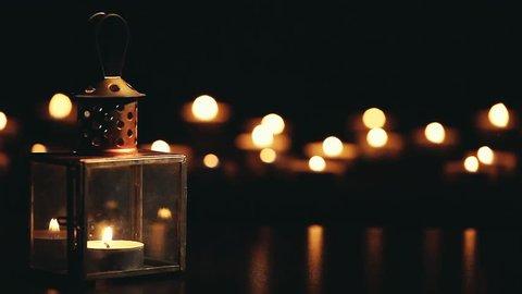 metal vintage candlestick
