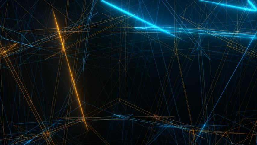 fractal light ray motion background