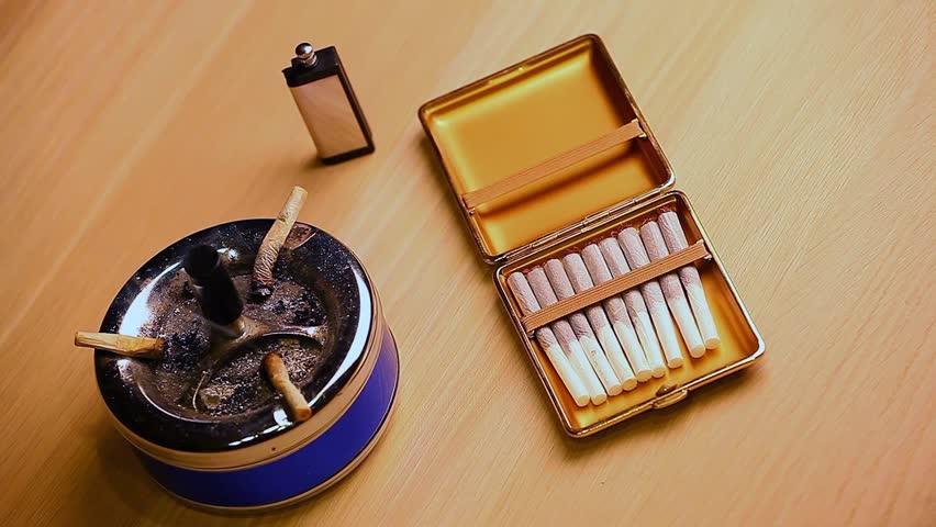 Stop smoke cigarette    Shutterstock HD Video #1009315496