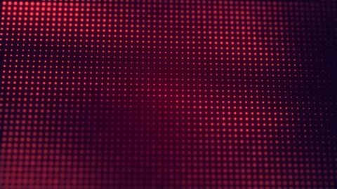 Abstract Red cg motion waving texture with glowing defocused particles. Cyber or technology digital landscape background. 1920p Full hd