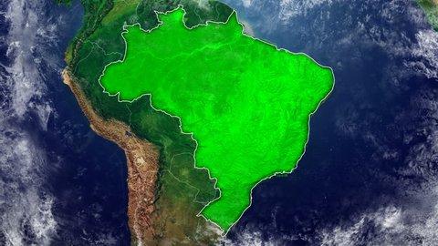 BRAZIL DIGITAL MAP