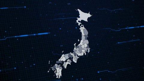 Japan Network Map