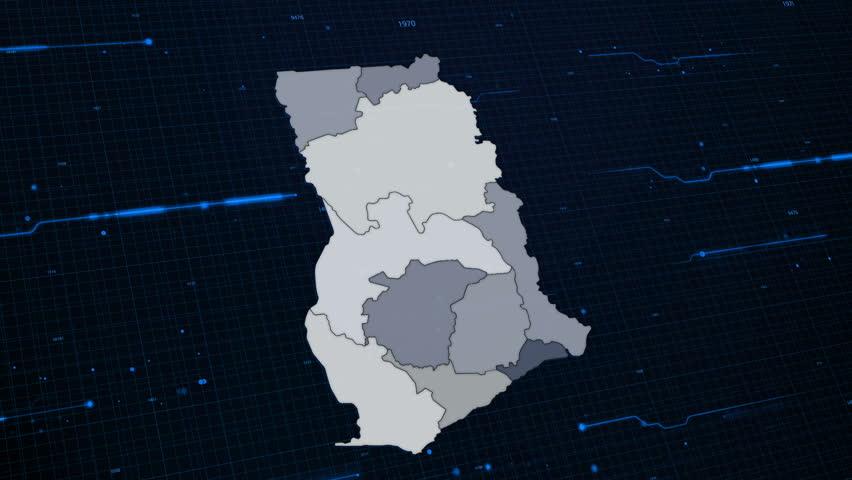 Ghana Network Map
