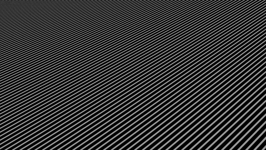 Abstract background with wavy lines. Animation ripples on surface from neon lines. Animation of seamless loop | Shutterstock HD Video #1009718336