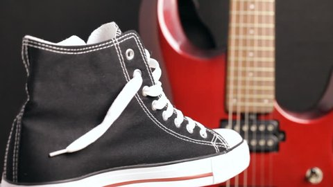 1000+ Black Converse Sneakers Stock Video Clips and Footage (Royalty ... af752980c