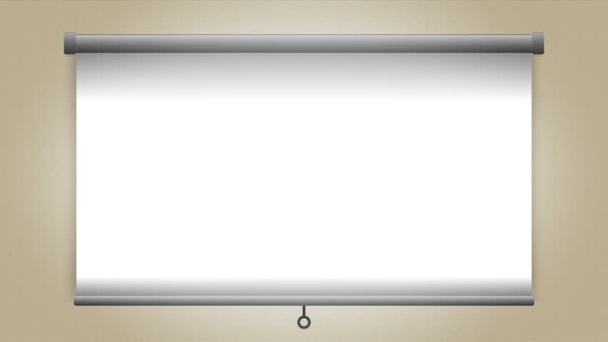 Presentation Screen Animated, Blank Whiteboard. | Shutterstock HD Video #1009902926