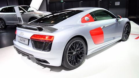 Audi R 8 2018 Stock Video Footage 4k And Hd Video Clips Shutterstock