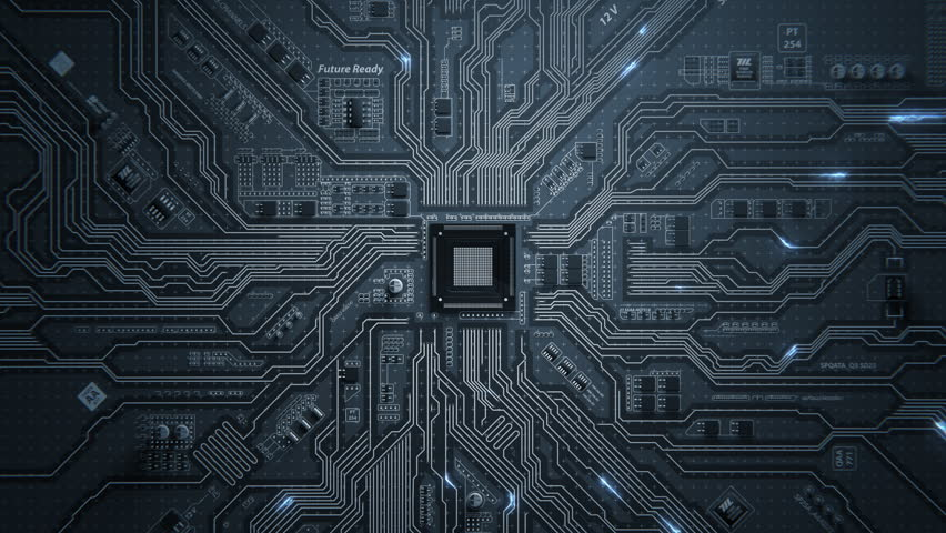 Motherboard Circuit Background
