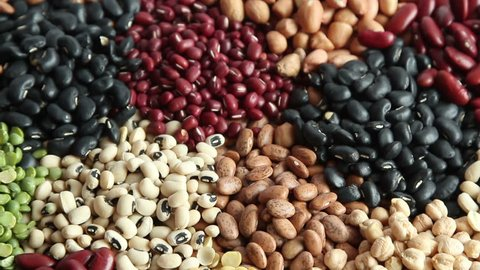 High protein food legumes ready for cook at groceries of fresh market