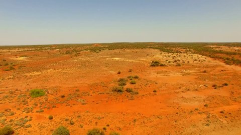 Aerial View of the Outback, Gold Mine, Mount Magnet, Lennonville, Western Australia, Australia, Down Under