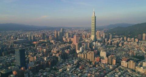 Dolly into city of Taipei, Taiwan(1/60f)