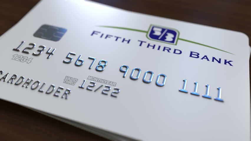 Stock Video Clip Of Plastic Card With Logo Of The Fifth Shutterstock