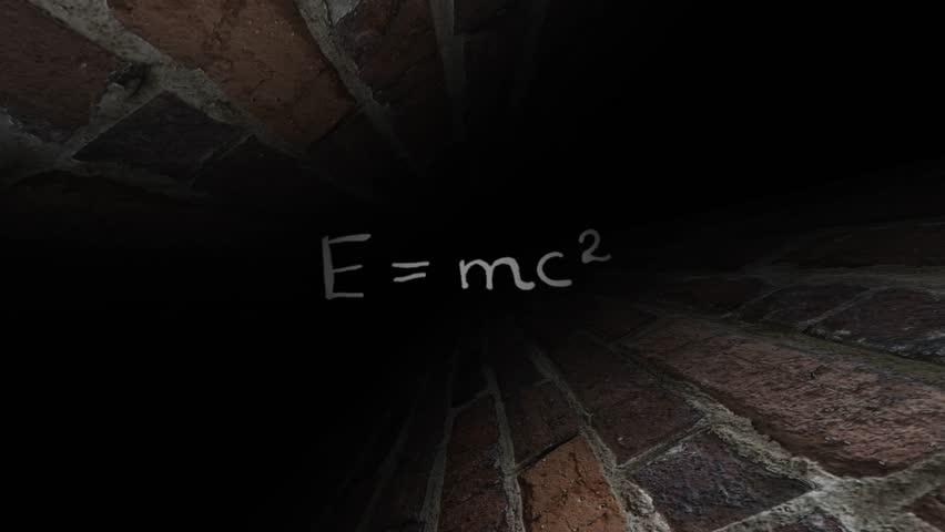 Theory of relativity Einstein. Dark maze. 40