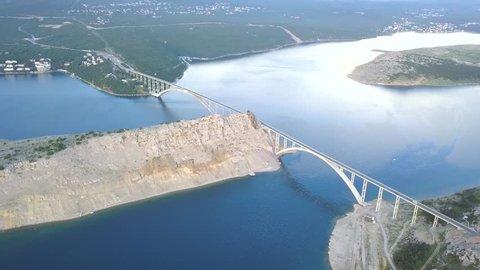 Krk bridge, Croatia