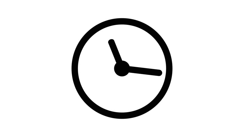 Stopwatch animated icon. Clock with moving arrows animation with optional luma matte. Alpha Luma Matte included. 4k video | Shutterstock HD Video #1011262886
