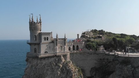Swallow's Nest near Yalta in Crimea